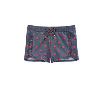 Epic Threads Kids Girl Star-Print Shorts, Navy Peony