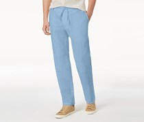INC Men's Drawstring Pants, Light Blue