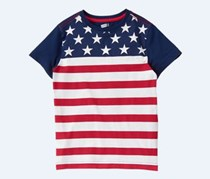 Crazy 8 Boy's Top, Navy Blue/Red/White