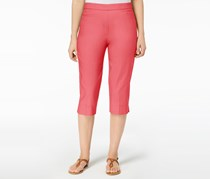 Alfred Dunner Petite Pull-On Capri Pants, Coral