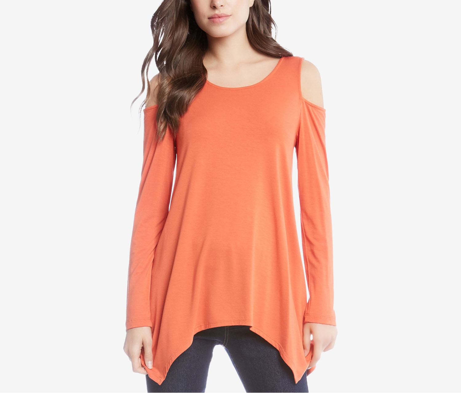 Karen Kane Women's Top, Orange