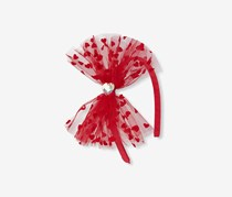 The Children's Place Bow Lace Headband, Red