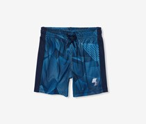 Place Sport Printed Shorts, North Shore Blue