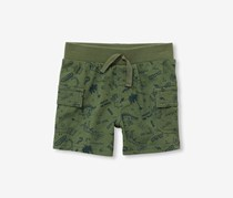 The Children's Place Printed Shorts, Garden Cress