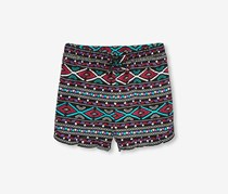 The Children's Place Printed Shorts, Black Combo