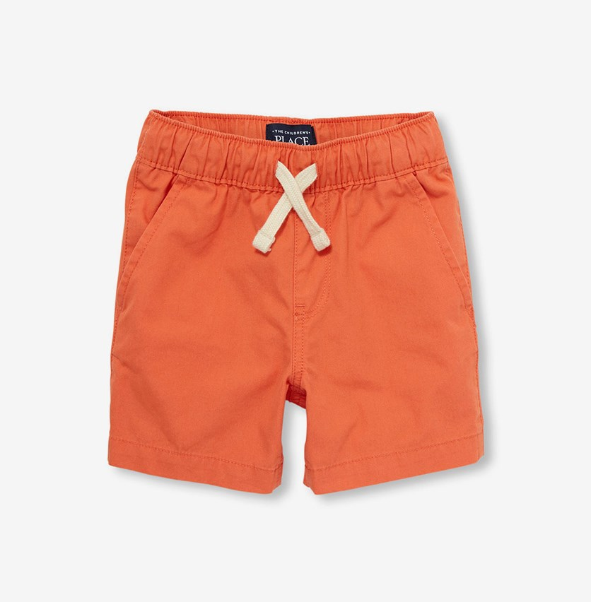 Toddler Boys Woven Pull-on Jogger Shorts, New Dawn