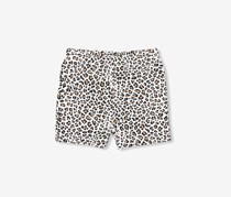 The Children's Place Printed Ruffle Short, Leopard