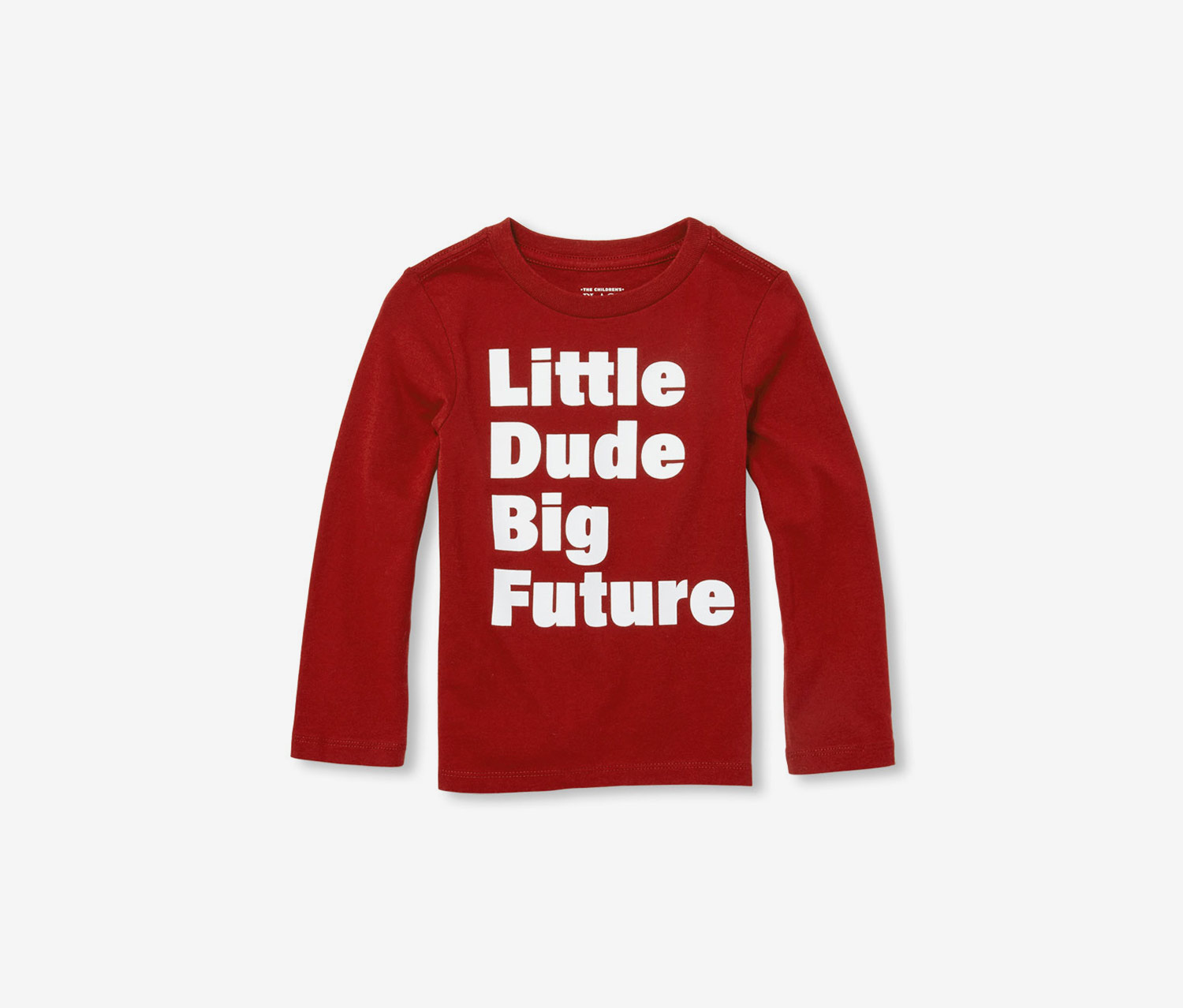 The Childrens Place Baby Boys Big Kid Long Sleeve Graphic Shirt