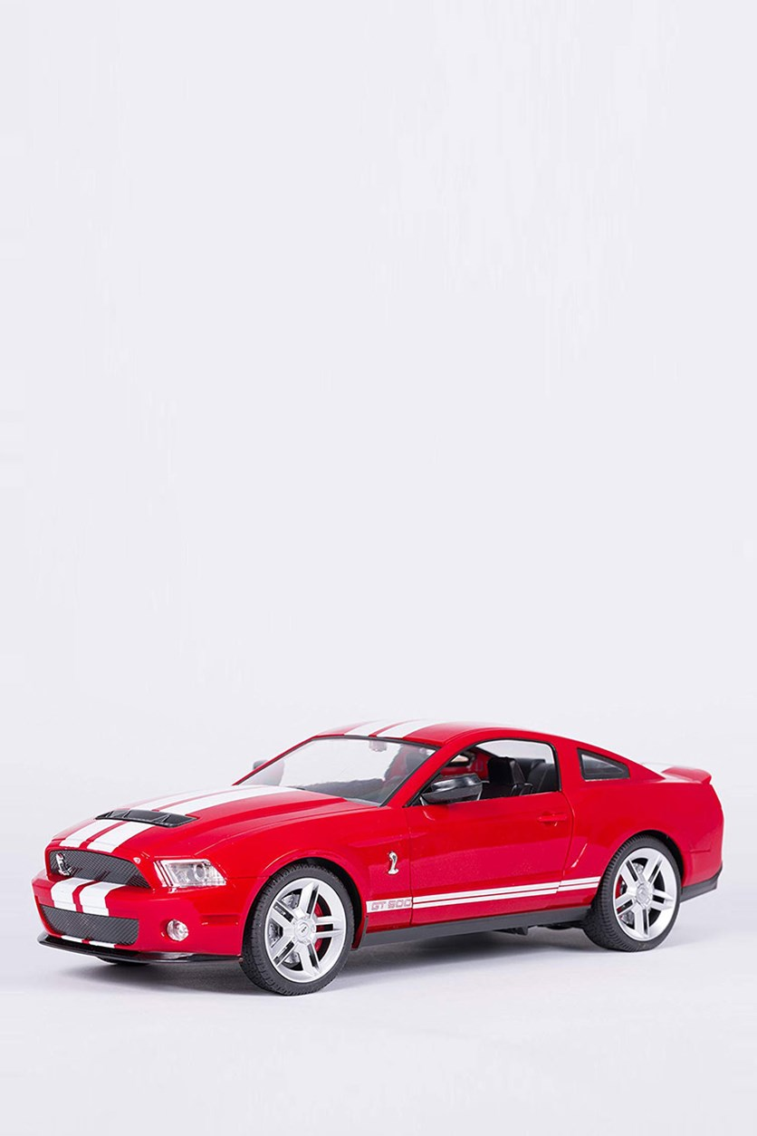 Ford Shelby GT-500 Mustang (Officially Licensed) 1:14 scale Remote Control RC Car, Red/White