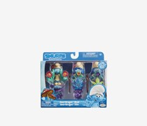 Smurfs The Lost Village Smurf Dragon Head Figure Theme Pack, Blue Combo