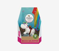 Bullyland Chubby Unicorn Riding, White Combo