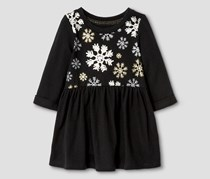 Cat & Jack Baby Girl's Dress, Black