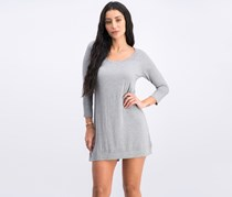 Olivaceous Women's Long Sleeve Dress, Heather Grey
