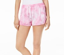 Jessica Simpson Juniors Tie-Dye Drawstring Short, Pretty Pansy