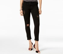 Articles of Society Karen Ripped Skinny Jeans, Decon Black