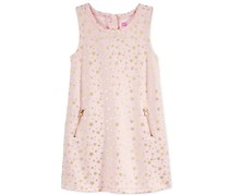 Epic Threads Little Girls' Star Shift Dress, Pink