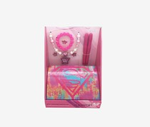 Supergirl Girls Rule Mega Beauty Set, Pink