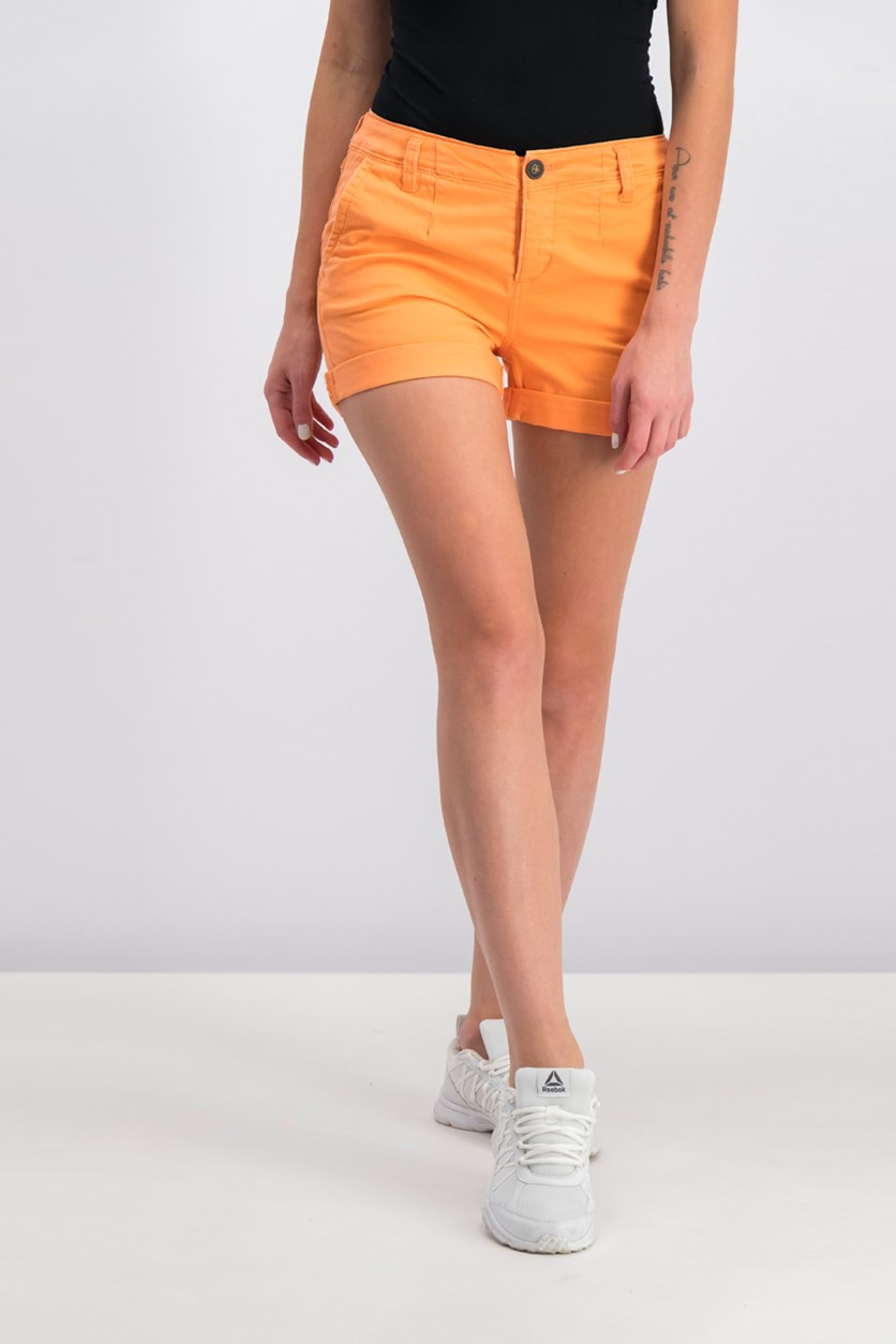 Women's Commodity Chino Shorts, Peached Coral