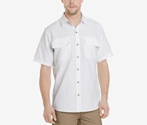 G.h. Bass & Co. Men's Explorer Fishing Shirt, White
