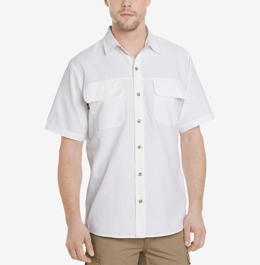 Men's Explorer Fishing Shirt, White