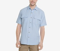 G.h. Bass & Co. Men's Explorer Fishing Shirt, Chambray Blue
