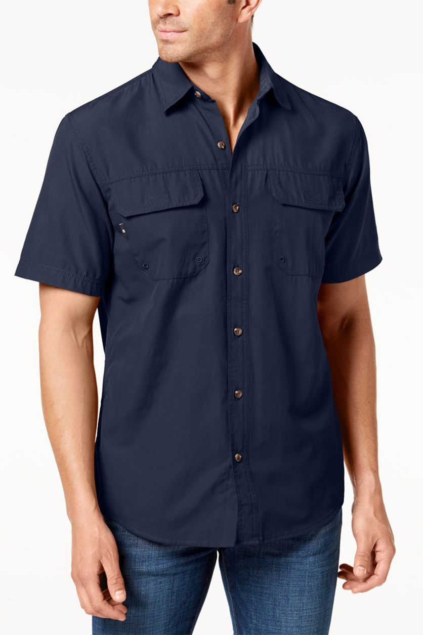 Men's Fishing Shirt, Navy