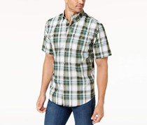 G.h. Bass & Co. Men's Sportsman Plaid Shirt, Green