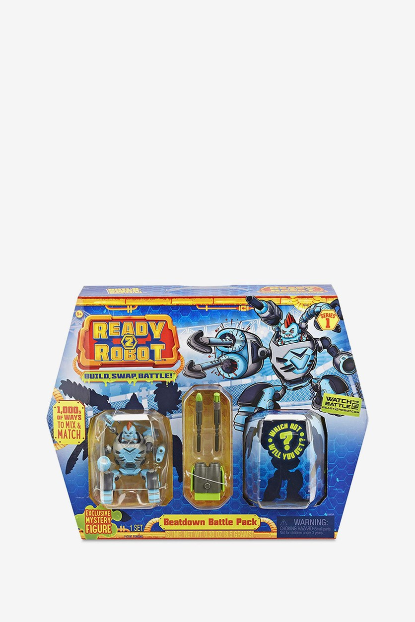 Battle Pack Tag Team Thermo, Blue Combo