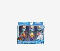 Smurfs The Lost Village Smurf Dragon Tail Figure Theme Pack, Blue Combo
