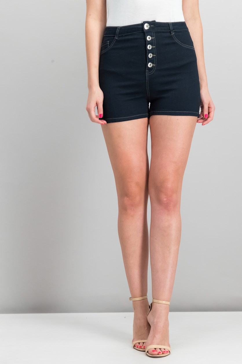 Womens Short, Dark Blue