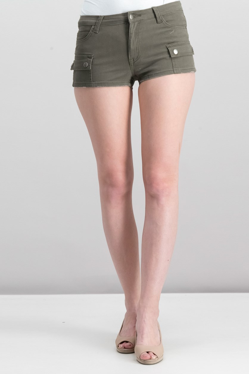 Women's Multi Pocket Short, Olive