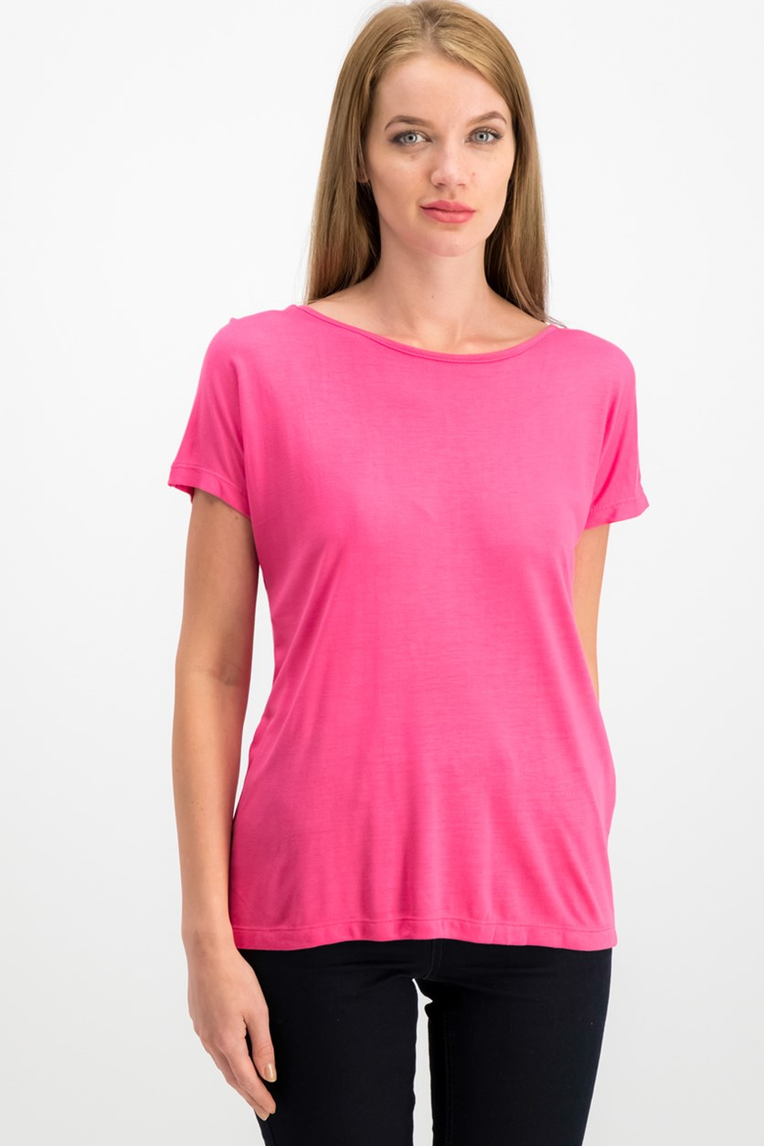 Women's Tie Back Tops, Pink