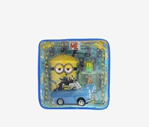 Despicable Me Minions EDT 50ML, Plastic Straw Glass Bag Set, Blue/Yellow