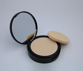 Long Listing oil Control Pressed Powder, Gold