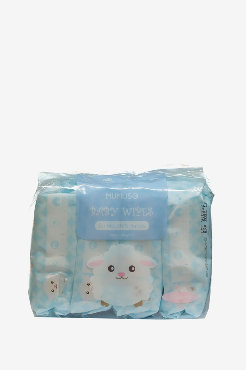 Baby Wipes For Mouth & Hands Set of 4