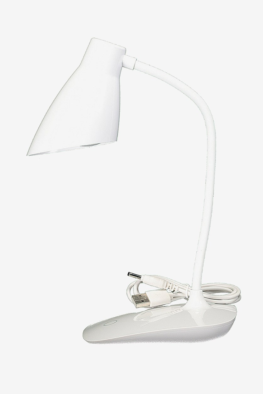 Modern Simple Touch Control Desk Lamp, White