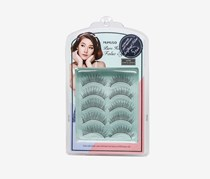 False Eyelash Set-5 Pair-Dense, Black