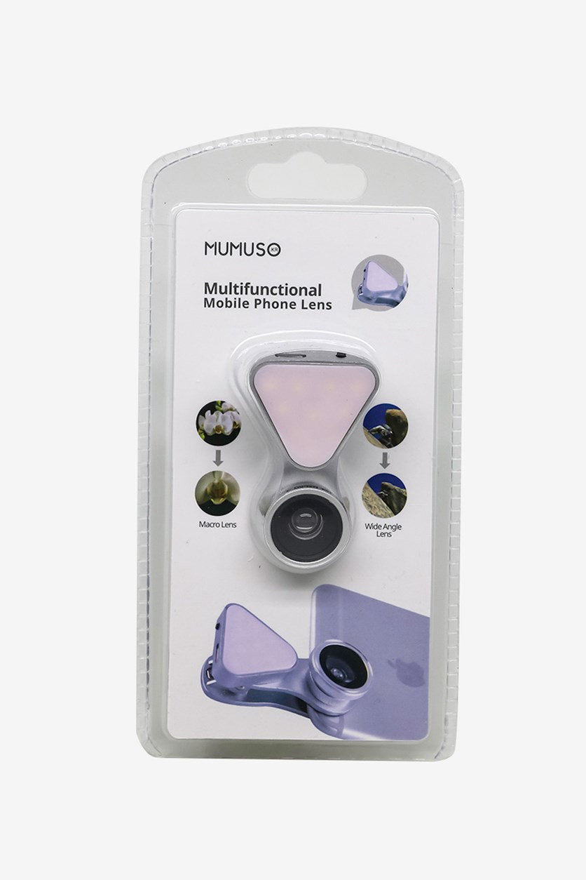 Multifunctional Mobile Phone Lens, Silver