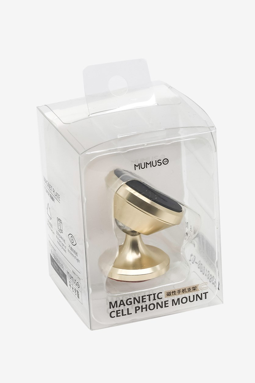 Magnetic Cell Phone Mount Holder, Gold