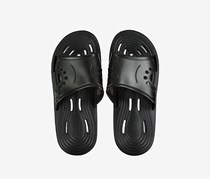 Men's Non-Slipping Hole Sole Slippers, Black
