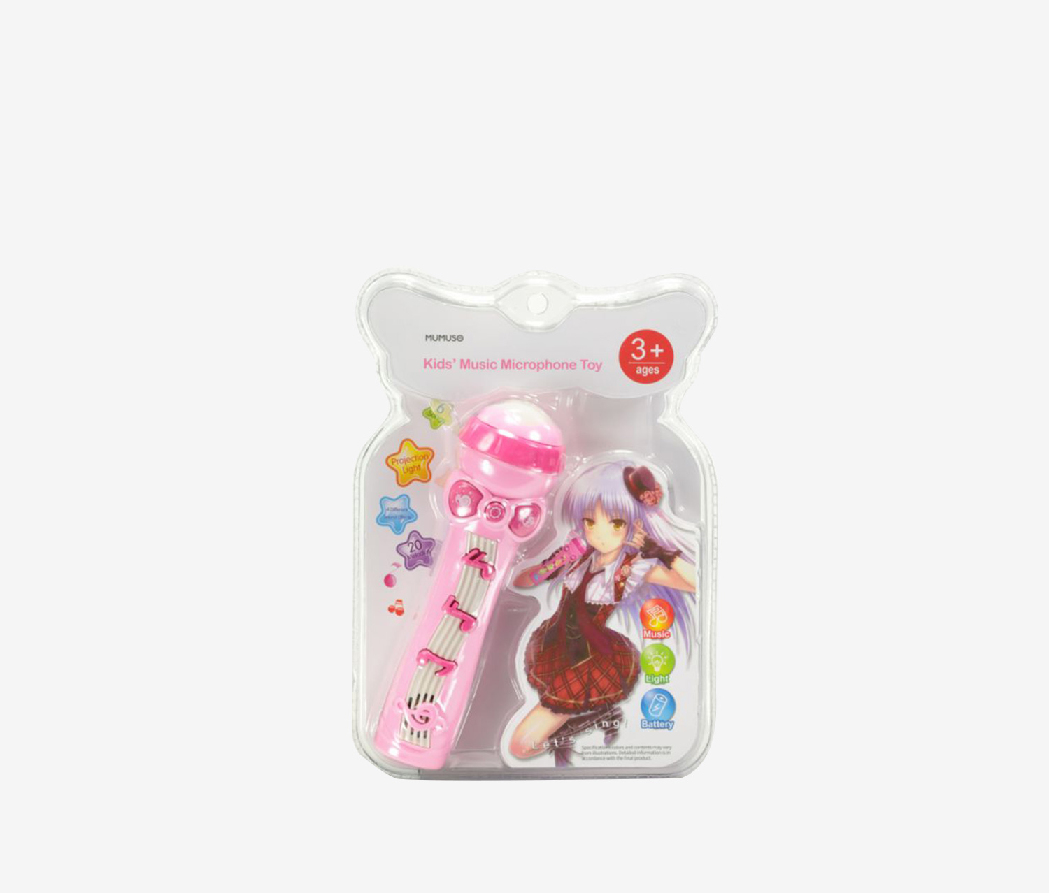 Kids Music Microphone Toy, Pink
