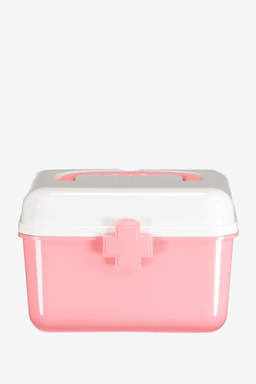 Home Use Medical Box, Pink/white