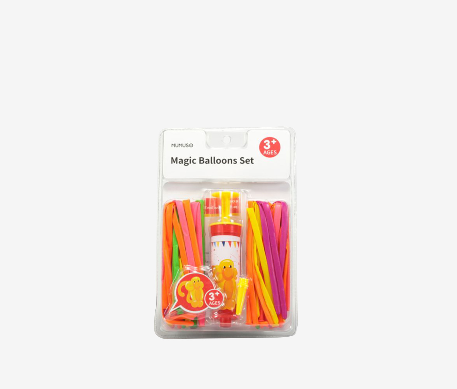 Magic Balloons Set, Yellow/Orange Combo