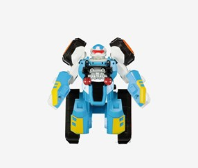 Transformable Robot Toy, Blue