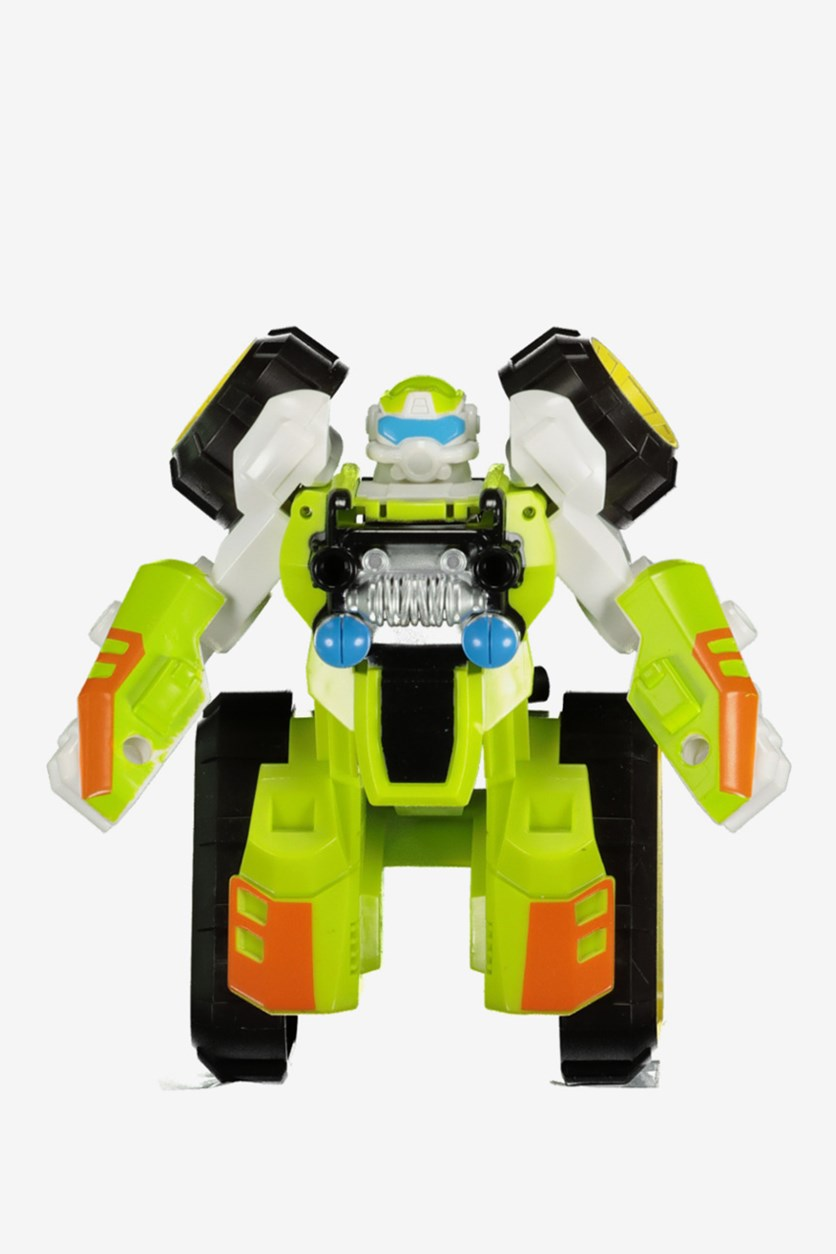 Transformable Robot Toy, Green