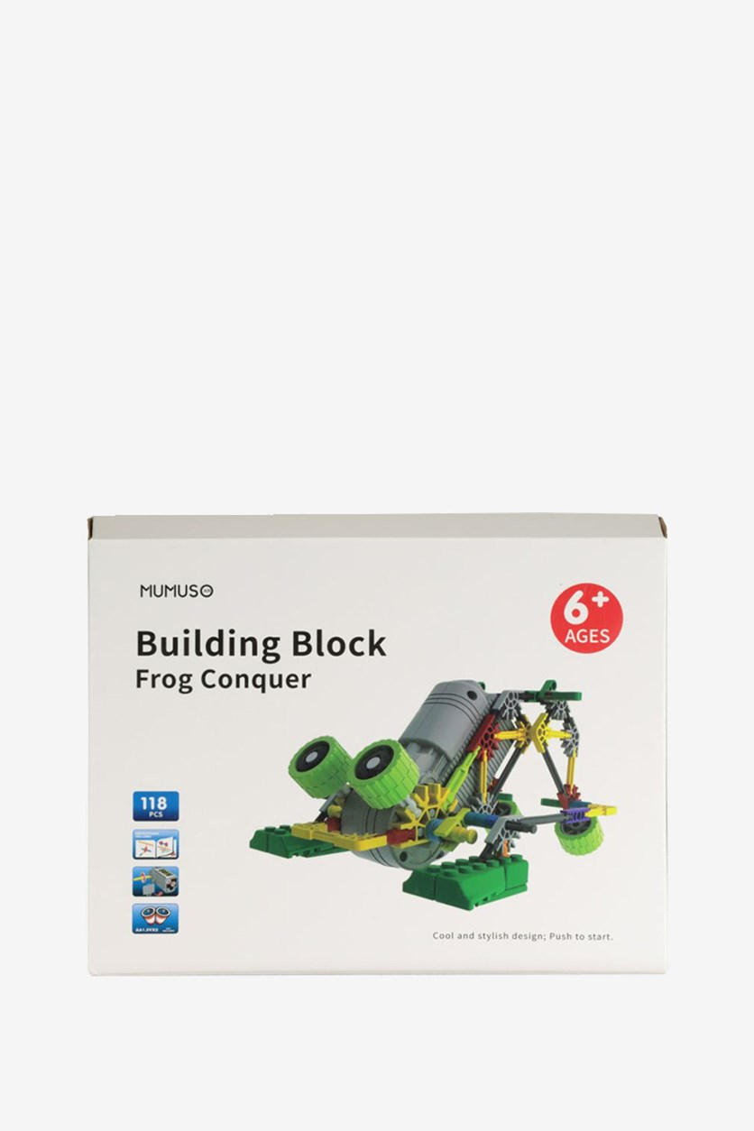 Building Block Frog Conquer, Green Combo