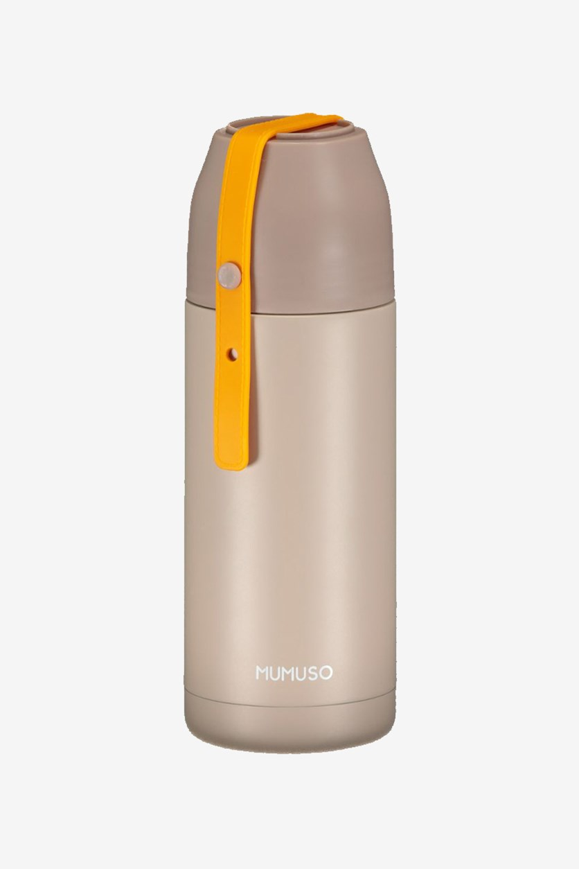 Portable Vacuum Bottle, Khaki