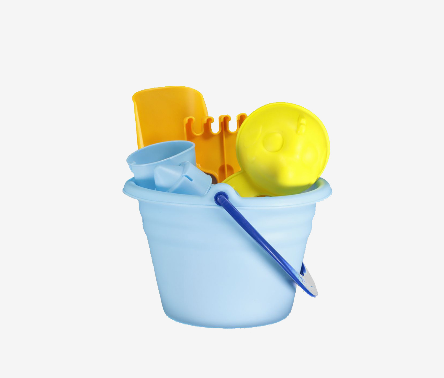 Beach Pail Play Set, Blue Combo