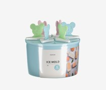 Bear Ice Mold, Blue/Pink/Green