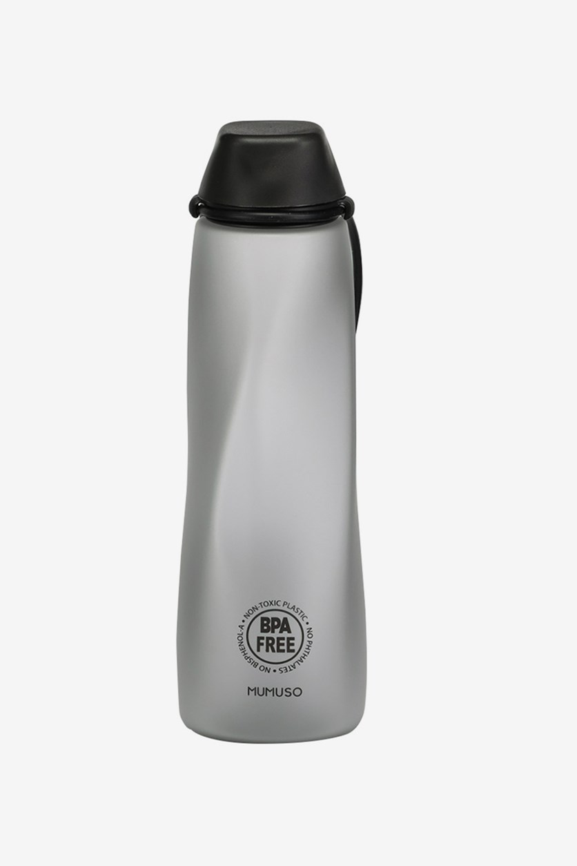 Portable Plastic Bottle 550ml, Black